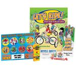 Custom Bicycle Safety Activity Pack - Personalization Available