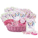 Custom Super Deluxe Breast Cancer Awareness Assortment With Display Basket
