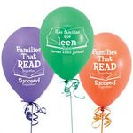 Custom Families That Read Together Succeed Together Bilingual Balloons