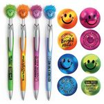 Custom Happy Face Mood Stress Reliever & Fun Guy Pen Gift Set