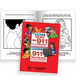 Custom Telephone For Help, Call 9-1-1 Bilingual Educational Activities Book - Personalization Available