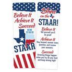 Believe It, Achieve It, Succeed On The STAAR Bookmark