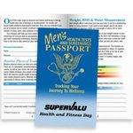 Custom Men's Health Tests And Screenings Passport (With Sleeve) - Personalization Available