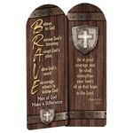 B.R.A.V.E. Men Of God Make A Difference Deluxe Bookmark