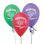 Custom Latex Balloons (Volunteers Make The World A Brighter Place)