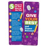 Give Your Best And Expect Success! Bookmark