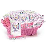 Custom Budget Breast Cancer Awareness Assortment With Display Basket