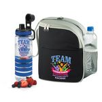 Custom TEAM Together Everyone Achieves More Eastport Lunch Bag & Fresno Fruit Infuser Water Bottle