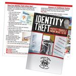 Custom Identity Theft Protect Yourself, Know What To Do Handbook - Personalization Available