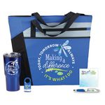 Custom Making a Difference Today, Tomorrow & Always 5-Piece Gift Set