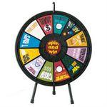 Custom Tabletop 12-Slot Prize Wheel