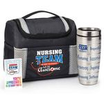 Custom Nursing Team We Don't Do Average, We Do Awesome Gift Trio