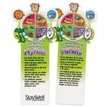 Good Nutrition Starts With MyPlate Die-Cut English/Spanish Bookmark - Personalized