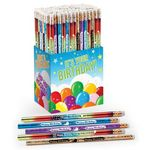 Custom It's Your Birthday! 150-Piece Award Pencil Collection