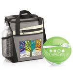 Custom Caring Is Always In Season Merrick Lunch Bag & Round Food Container Gift Set