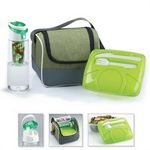Custom Green Chic Lunch To Go Set