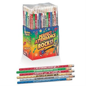 Perfect Attendance 150-Piece Pencil Assortment Collection