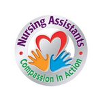 Custom Nursing Assistants Compassion In Action Lapel Pin With Presentation Card