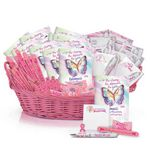 Custom Deluxe Breast Cancer Awareness Assortment With Display Basket