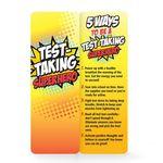 Test Taking Superhero Die-Cut Bookmark