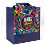Custom Thanks For Being Awesome Laminated Non-Woven Tote