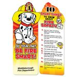 Do Your Part, Be Fire Smart! Die-Cut Bookmark - Personalized