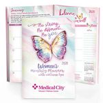 Custom 2019 Women's Monthly Planner With Wellness Tips - Personalization Available