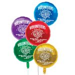 Custom Foil Balloons (Volunteers Make The World A Brighter Place)