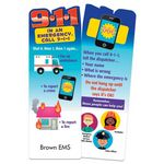 Dial 911 In An Emergency Die-Cut Bookmark - Personalized
