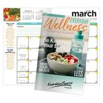 Custom Everyday Wellness 2019 Deluxe Monthly Pocket Planner With Stickers - Personalized