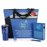Custom Making A Difference Today, Tomorrow & Always Everyday Essentials 5-Gift Set with Holiday Gift Card
