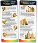 Black History: Famous Black Ministries And Churches Bible Marker