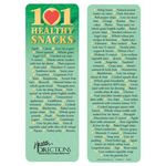 101 Healthy Snacks Bookmark - Personalized