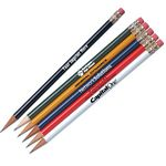 Custom #2 Standard Solid Color Pencils - Personalization Available