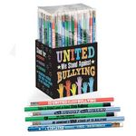 Custom United We Stand Against Bullying 150-Piece Anti-Bullying Pencil Collection