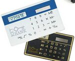 Credit Card Size Solar Calculator