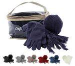 Custom 4 Piece Winter Knit Set W/ Bag