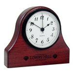 Custom Wood Mantle Clock