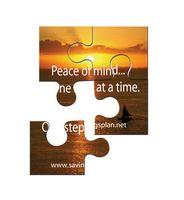 """Puzzle Magnet w/ 4 Pieces (4""""x4"""")"""