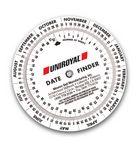 Custom Date Finder Calendar Wheel (4 1/4