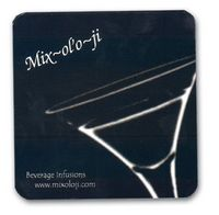 "3 1/4"" Paper Coaster (11 Point)"
