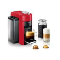 nespresso vertuo coffee and espresso machine by de 39 longhi with aeroccino red env135rae. Black Bedroom Furniture Sets. Home Design Ideas