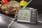 Custom Cuisinart Outdoor Grilling Thermometer With Timer