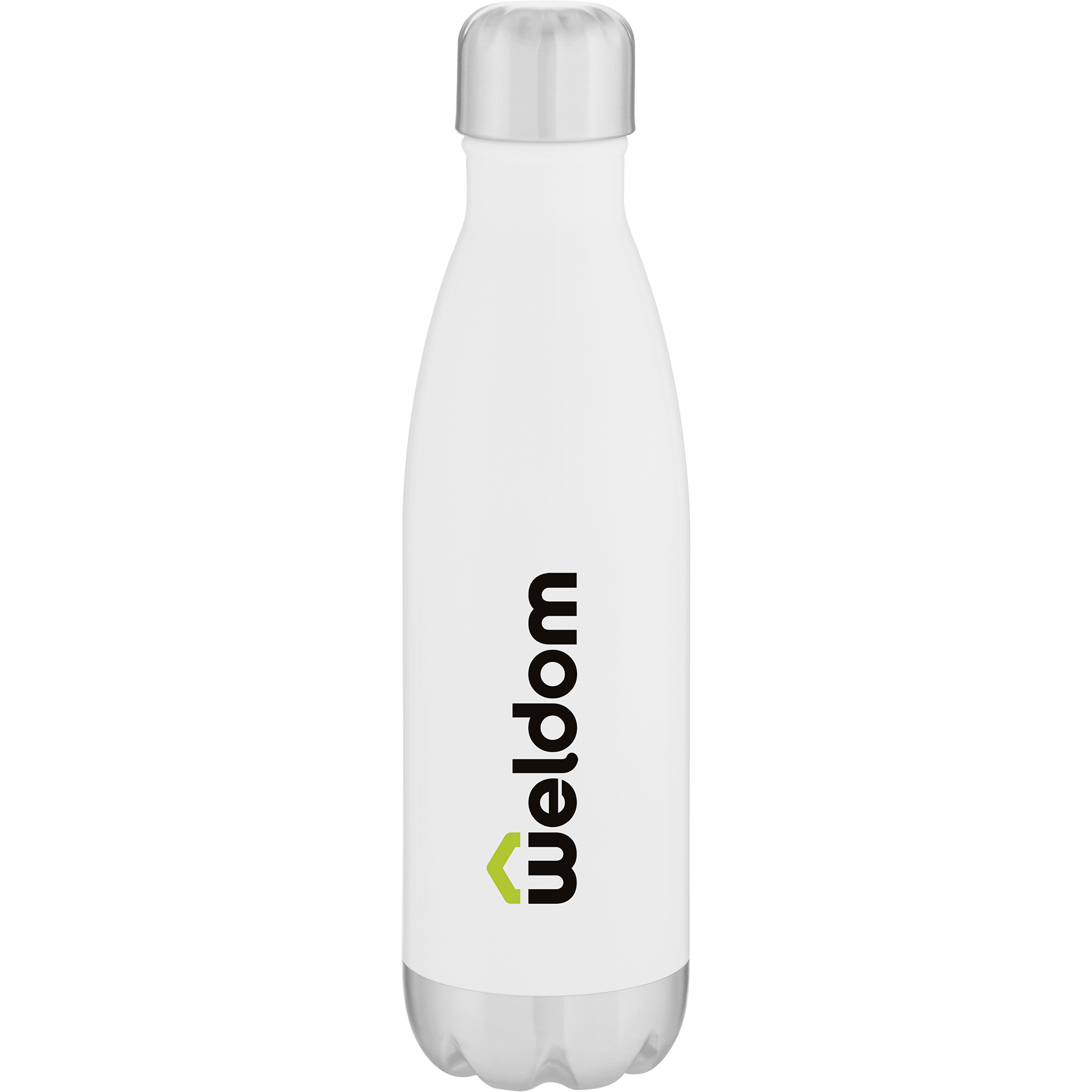 17 Oz. H2go Force Bottle (Gloss White)