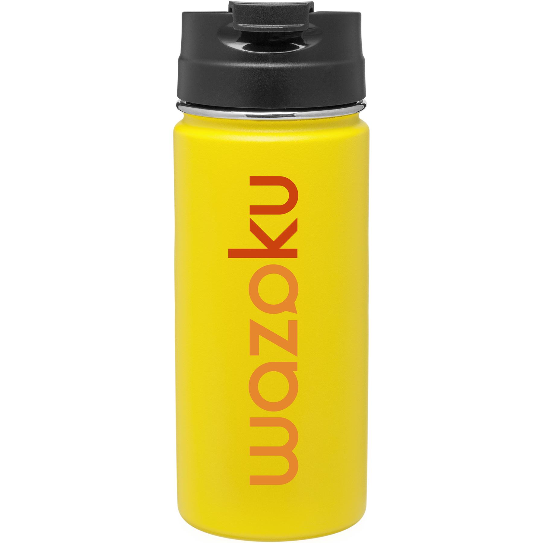 16 Oz. H2go Nexus Powder Tumbler (Matte Lemon)