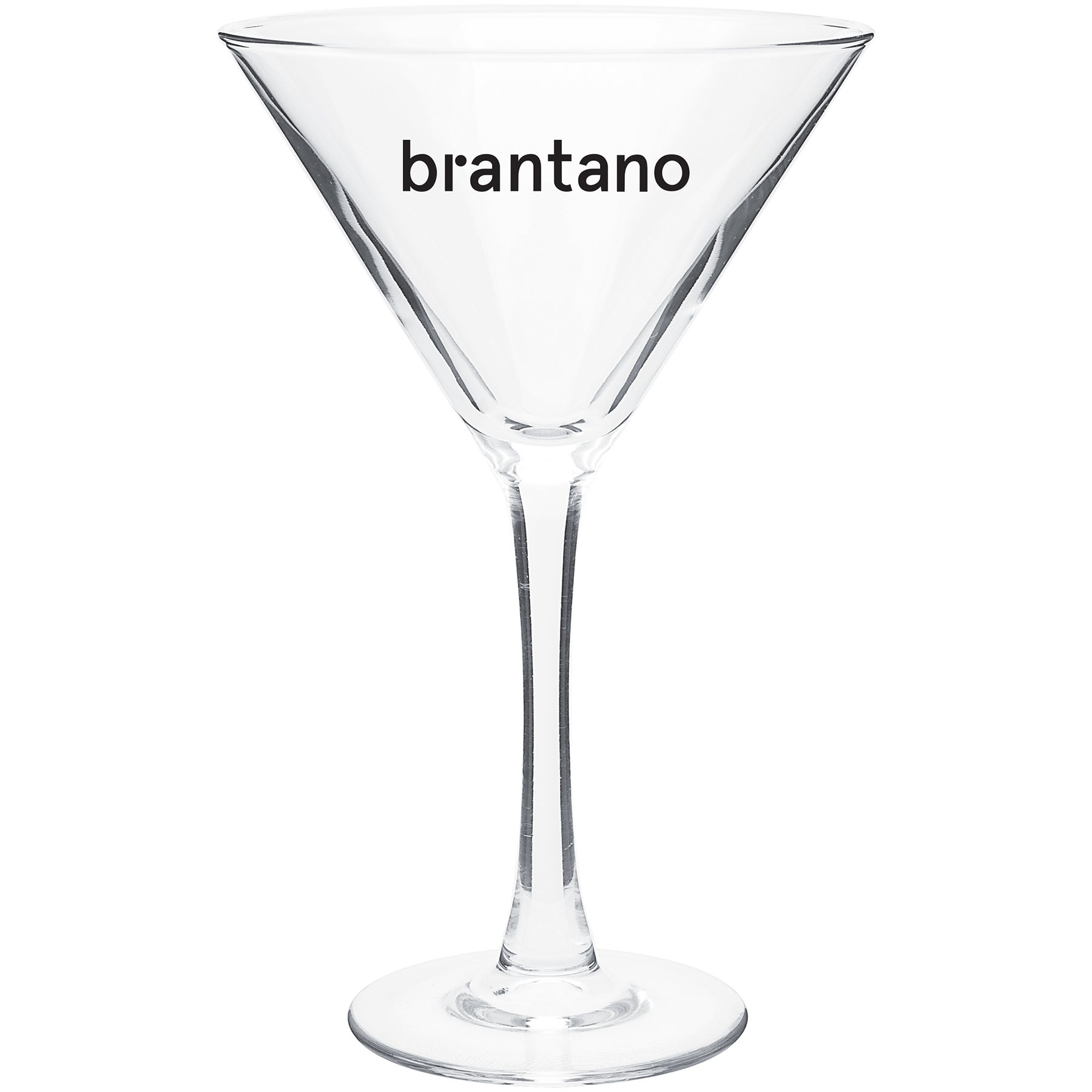 10 Oz Martini Clear Glass
