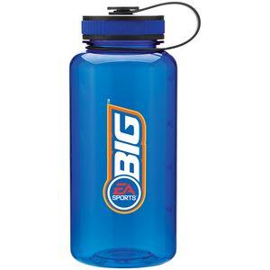 34 Oz H2go Wide Bottle - Blue
