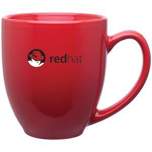15oz Bistro Mug (Glossy Red)