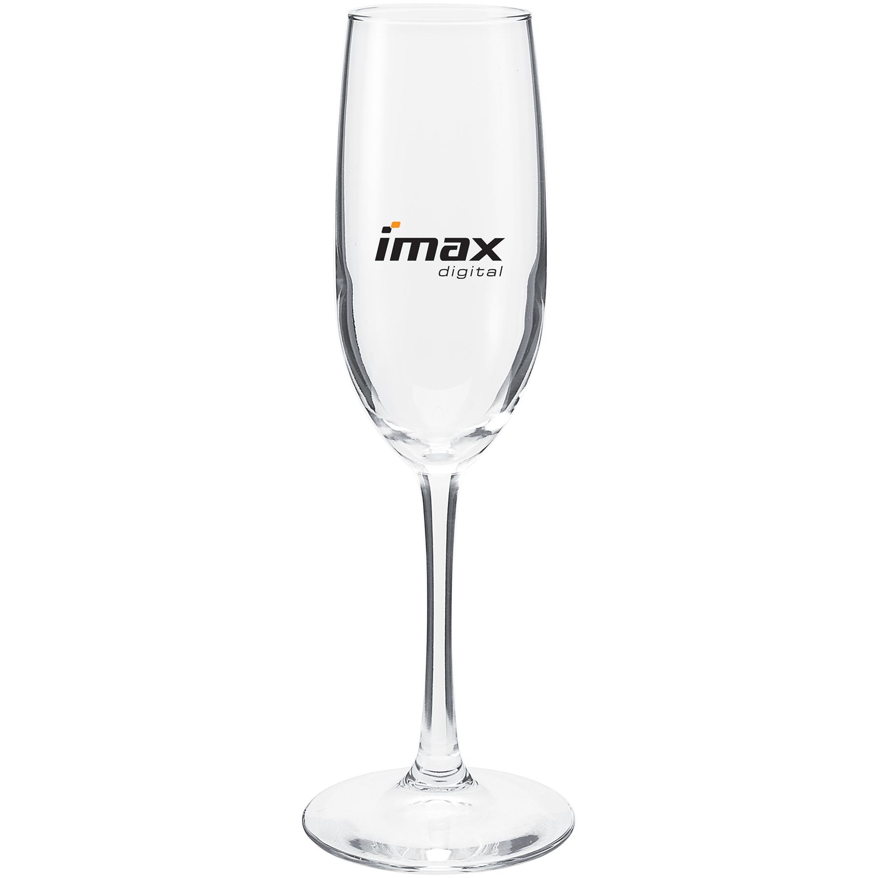 8 Oz Vina Flute Glass