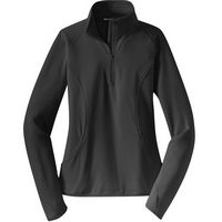 Sport-Tek Ladies Sport-Wick Stretch 1/2 Zip Pullover Jacket